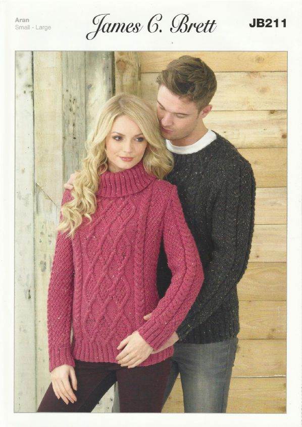 Chunky knit sweater pattern